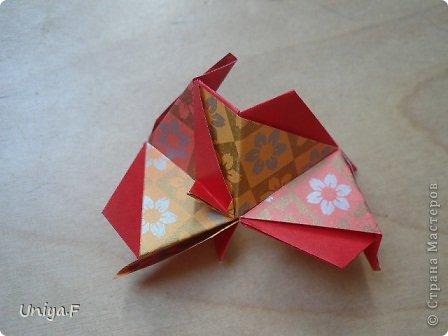 """Здравствуйте!  Следующий МК из серии """"Цветущие ленты"""".  Name: Senorita collection """"Ribbon Flowers""""  Designer: Uniya Filonova  Units: 30  Paper: 3*15 cm (1:5) Final height: ~ 9,5 cm  Joint: no glue фото 24"""