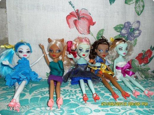Обновила гардероб своим девочкам-монстряшкам. фото 2