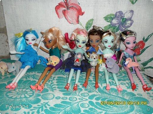 Обновила гардероб своим девочкам-монстряшкам. фото 1