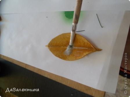 Картина панно рисунок Мастер-класс Ассамбляж Картина из кожи Композиция с Подсолнухами  Мастер-класс Кожа фото 14