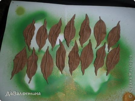 Картина панно рисунок Мастер-класс Ассамбляж Картина из кожи Композиция с Подсолнухами  Мастер-класс Кожа фото 22