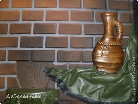 Картина панно рисунок Мастер-класс Ассамбляж Картина из кожи Композиция с Подсолнухами  Мастер-класс Кожа фото 43