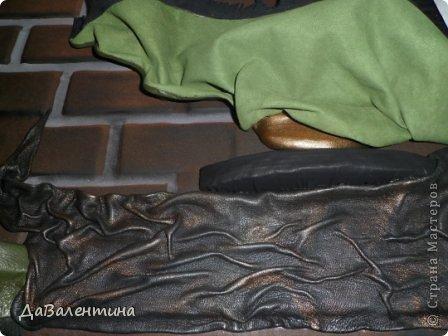 Картина панно рисунок Мастер-класс Ассамбляж Картина из кожи Композиция с Подсолнухами  Мастер-класс Кожа фото 44