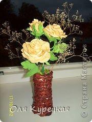 Вот уже год, как я сделала эти розы , а они всё равно как живые, радуют своим видом! Спасибо автору! фото 2