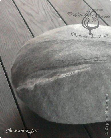 Камни-подушки...  из шерсти