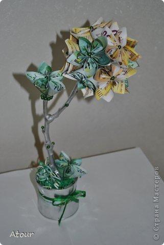 Сделала в подарок для друзей на вторую годовщину свадьбы- бумажная. фото 6