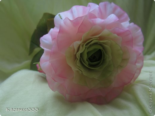 Ободок с цветами. фото 4