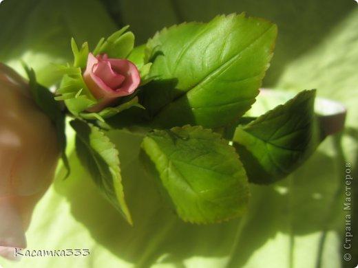 Ободок с цветами. фото 2