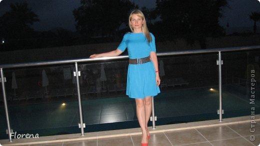 Платье из х/б ткани-штапеля. фото 1