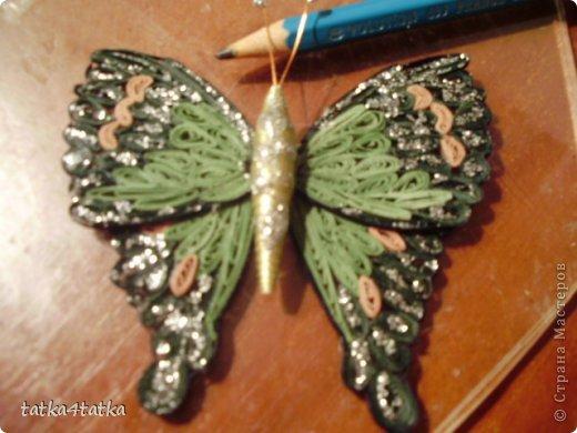 Бабочек очень люблю. Начинала с одной, дооформить работу, ну и затянуло... фото 6