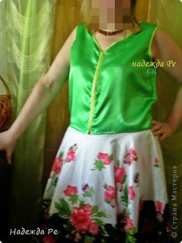 в конце прожлого лета купила юбку,но одеть не с чем было. фото 3