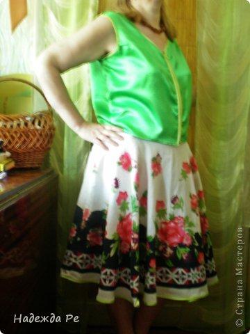 в конце прожлого лета купила юбку,но одеть не с чем было. фото 2