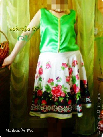 в конце прожлого лета купила юбку,но одеть не с чем было. фото 1