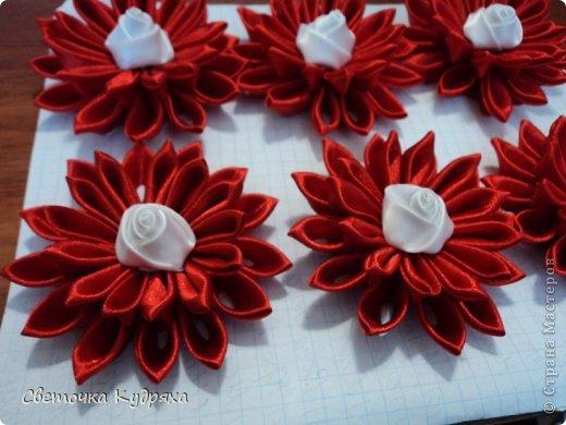 Вот такие цветы приготовила для моих подруг на свадьбу фото 2