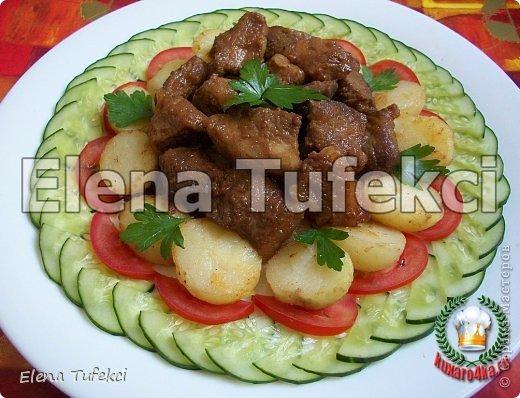 Первый раз готовила мясо в таком маринаде. Свинина «Эльдорадо» получилась просто бесподобно богатой на вкус, нежной, изысканной, потрясающей. Обязательно приготовьте, рекомендую! фото 1