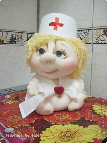 Ежик и медсестричка фото 2