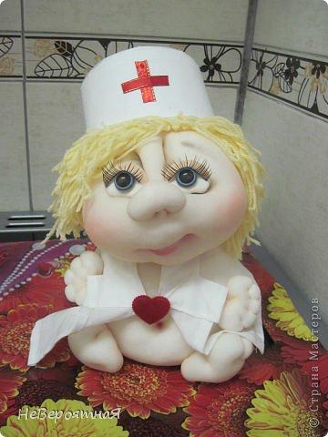 Ежик и медсестричка фото 3
