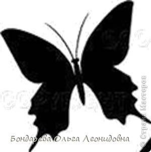 Бабочки шаблон своими руками фото