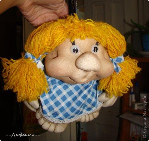 Как-то увидела видео мастер-класс Елены Лаврентьевой по изготовлению куклы из капрона и очень захотелось попробовать. Вот что у меня получилось! фото 2