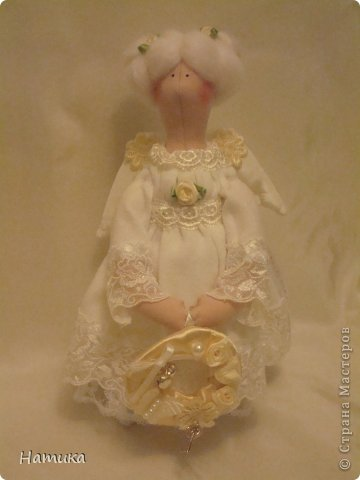 Ангелочек в стиле Тильда. Зофия. фото 3