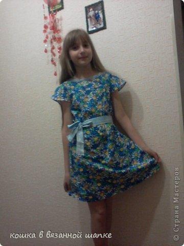 Это платье мне сшила бабушка  фото 1
