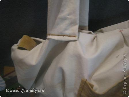 Сшила себе новенькую сумочку на лето.Сумочка сшита из тонкого джинса(роспорола старые брюки,которые стали на меня слишком большие) и кусочков замши. фото 27