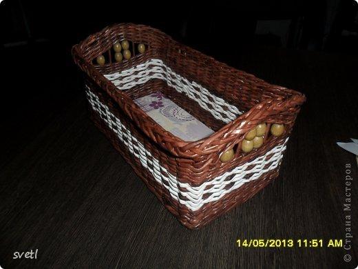 Сплела еще несколько коробочек по заказу домочадцев в рамках изучения новых узоров и техник... фото 2