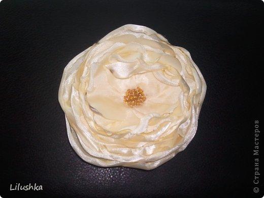 цветок-брошь фото 1