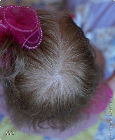 Куколка расписана мною специальными красками для реборнинга, волосы натуральные, соска магнитная. фото 15