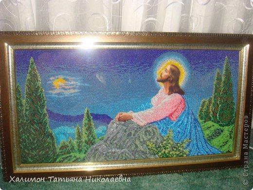 Иисус на оливковой горе фото 1