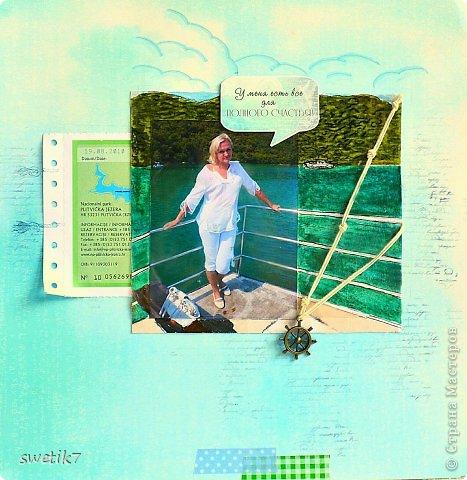 Всем привет!!:) Сегодня я к вам со страничкой о себе любимой, точнее о  своем путешествии в Хорватию в 2010 г., в страну с удивительно красивой природой и чистейшим морем. Эта страничка о том, как мы ездили на Плитвицкие озера - уникальный заповедник, состоящий из системы озер, вода в которых удивительно бирюзово-изумрудного оттенка...Фото, к сожалению, не передает всю насыщенность и красоту этого оттенка(( Ну да ладно...возвращаясь к страничке:)) вот, собственно, и она: фото 1