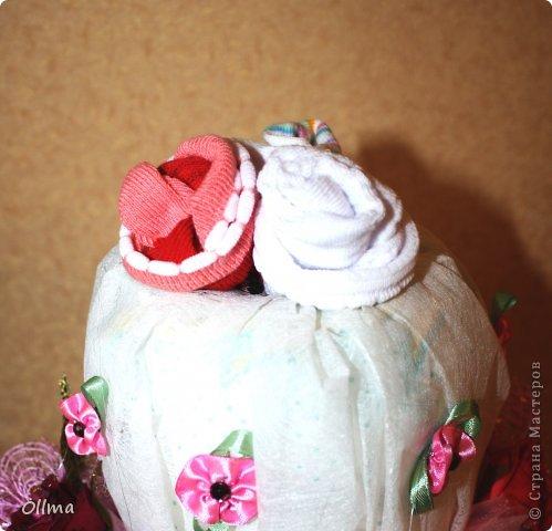 Торт из памперсов фото 3