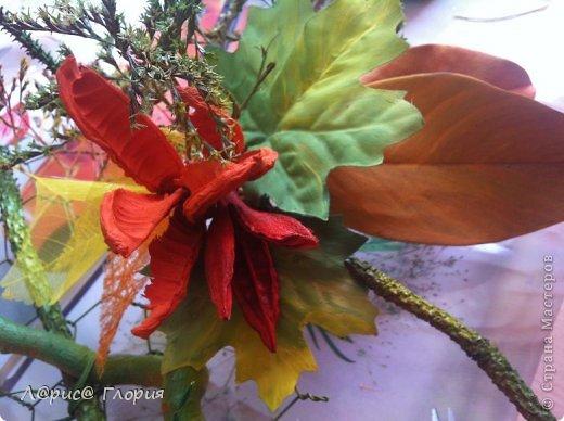 Мастер-класс Флористика Ассамбляж Цветок из плода ириса петушка Материал природный фото 1