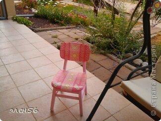 Сразу прошу прощения за нерезкие снимки,но  так уж вышло...Вот такой столик сотворился... фото 4