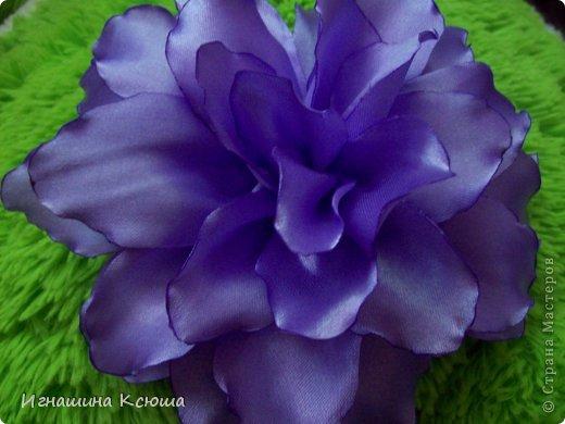 Цветы на резинках  d--18 см фото 2