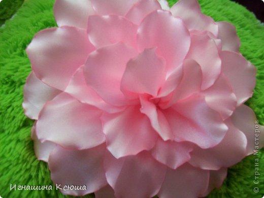 Цветы на резинках  d--18 см фото 4
