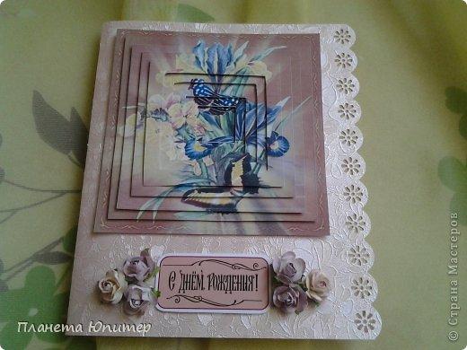 Привет всем! У меня сегодня очередной дебют... Опробирую для себя новый тип открыток... Это 3Д открыточки. Идею и материалы для таких открыток взяла у нашей дорогой Корнаточки. У нее там много взяких образцов, но мне интересными показались именно эти... http://stranamasterov.ru/node/576305 - ссылка на работы Корнаты... http://www.liveinternet.ru/users/4497417/post265724000 - ссылка на 3Д картинки... фото 11