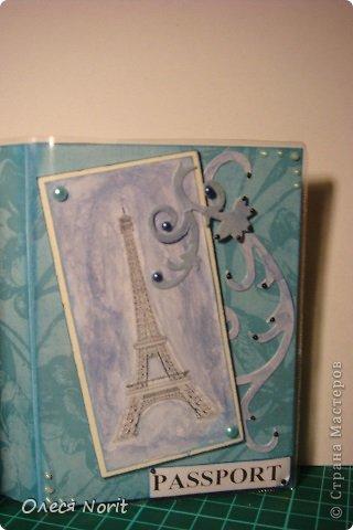 Две мои первые обложечки на паспорт фото 2