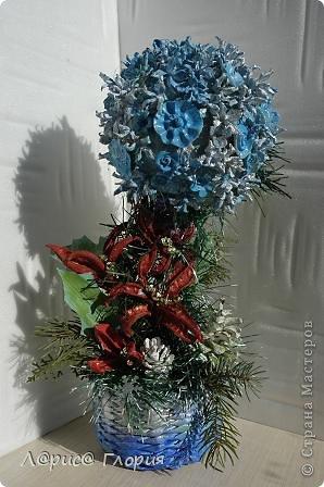 Мастер-класс Флористика Ассамбляж Цветок из плода ириса петушка Материал природный фото 18