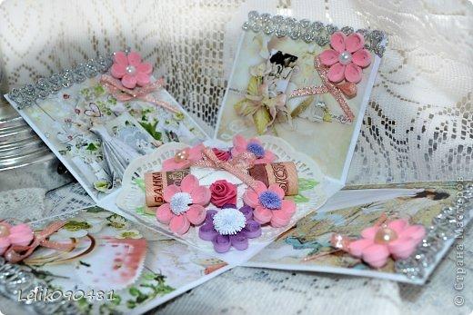 Свадебная коробочка для денег фото 6
