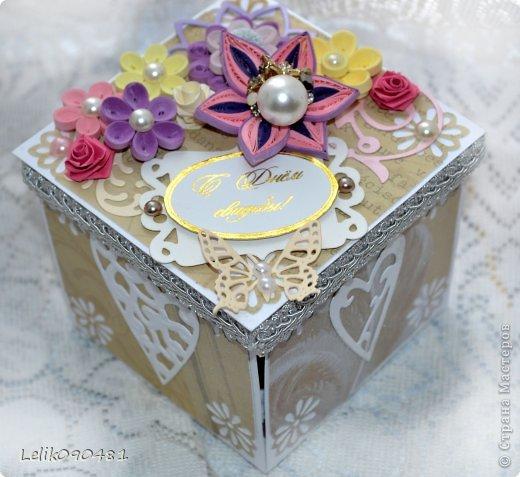Свадебная коробочка для денег фото 3