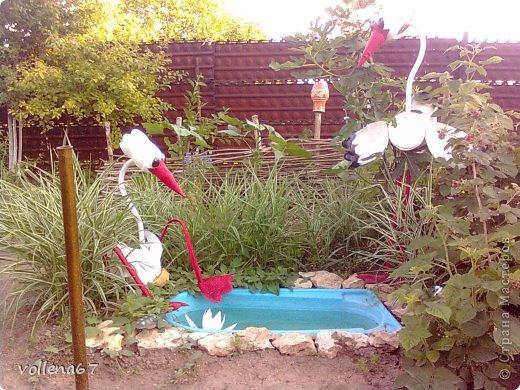 Решила украсить уголок в огороде. фото 1