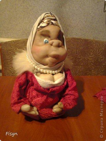 Вот такая моя первая кукла))))) фото 1