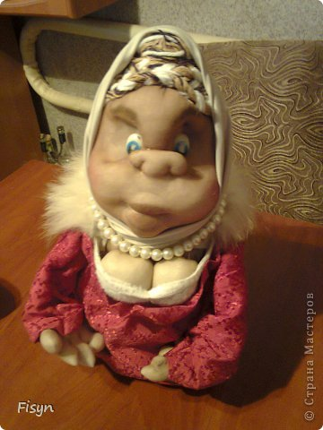 Вот такая моя первая кукла))))) фото 2