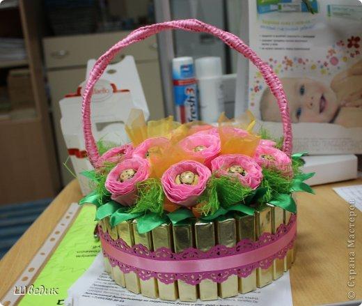 Корзинка в подарок коллегам))) фото 1