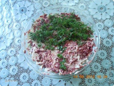добрый вечер мастера и мастерицы. недавно опять сделала салат (ну вот прямо мания какая-то). вот рецептик кому надо фото 1