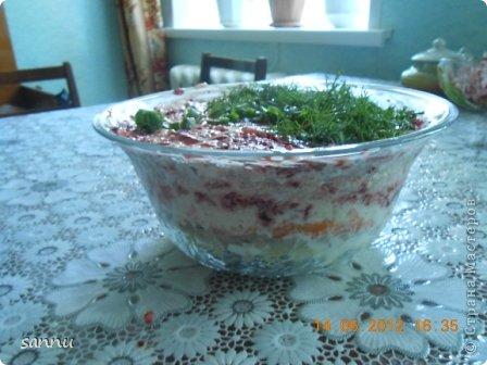 добрый вечер мастера и мастерицы. недавно опять сделала салат (ну вот прямо мания какая-то). вот рецептик кому надо фото 2