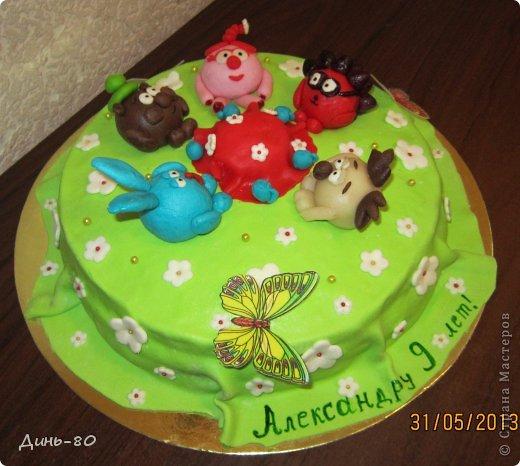 Торт Смешарики фото 1