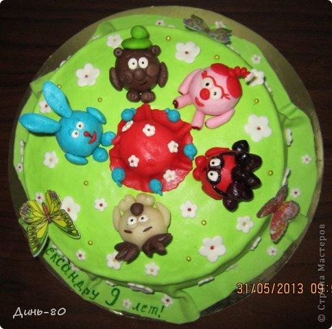 Торт Смешарики фото 2