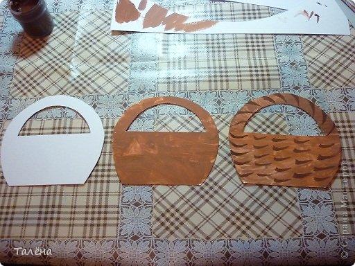 Вот такие корзинки - магнитики у нас получились! фото 6